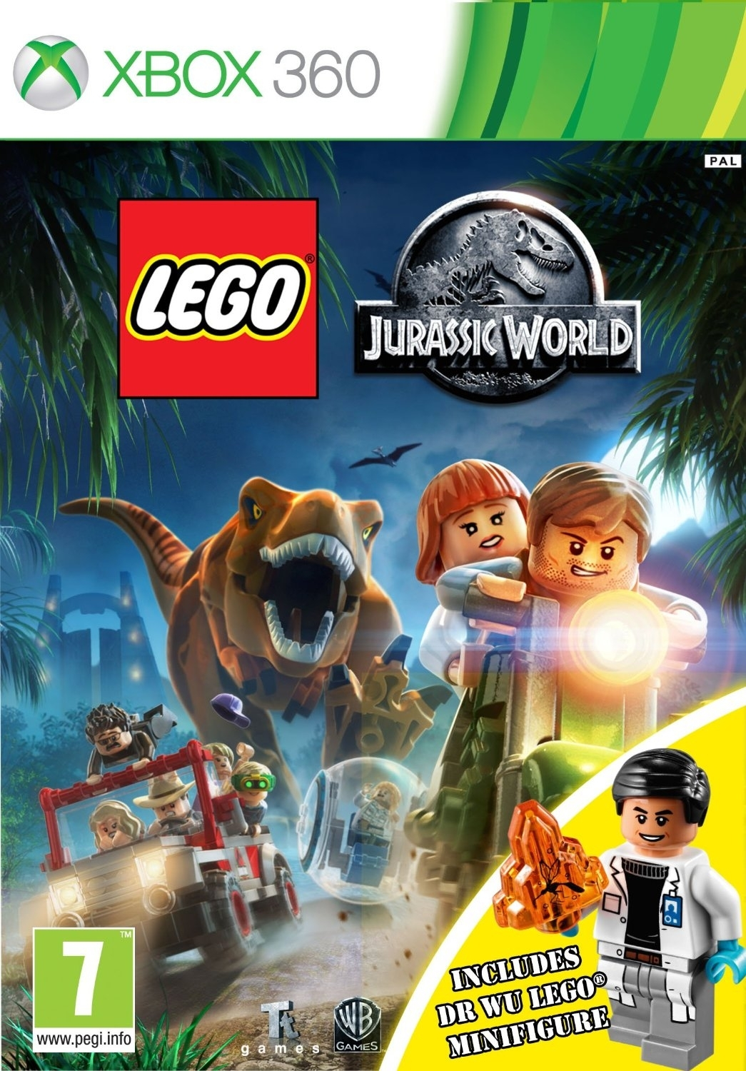 LEGO Jurassic World PL (Xbox 360)